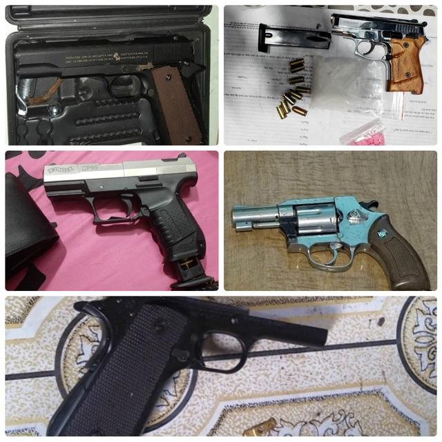 Bắt nhóm đối tượng buôn bán ma túy nguy hiểm, thu 7 khẩu súng - 4
