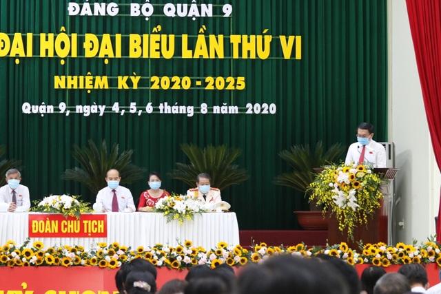 TPHCM: Ông Lâm Đình Thắng tái đắc cử Bí thư quận 9 - 1