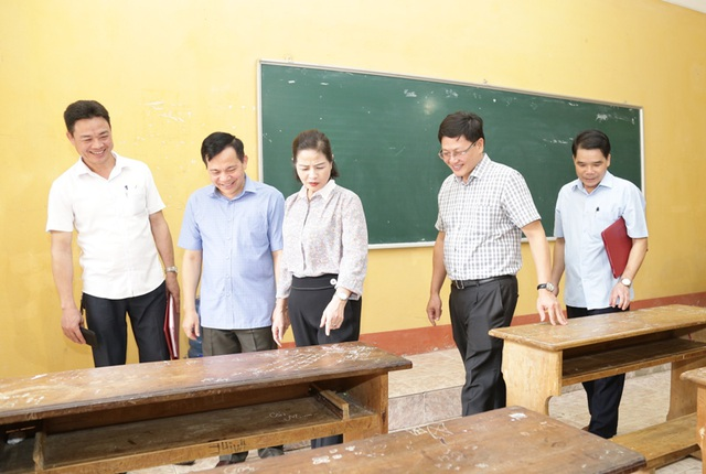 Thanh Hóa: Giáo viên, học sinh dự thi tốt nghiệp THPT phải đeo khẩu trang - 1