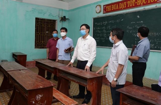 Thanh Hóa: Giáo viên, học sinh dự thi tốt nghiệp THPT phải đeo khẩu trang - 3