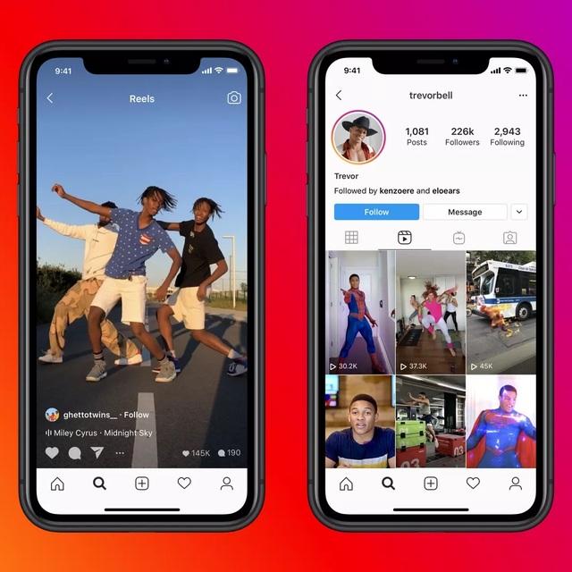 """Instagram ra mắt tính năng mới """"nhái"""" TikTok - 1"""