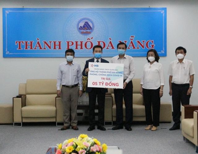 MB đồng hành cùng ngành ngân hàng hỗ trợ TP. Đà Nẵng chống dịch Covid - 1