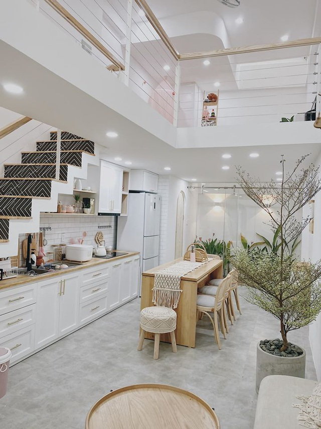 Tích cóp tiền 5 năm, vợ chồng trẻ xây căn nhà đẹp như mơ, đậm chất Hàn Quốc - 1