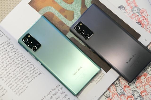 Thực tế bộ đôi Galaxy Note20 và Note20 Ultra tại Việt Nam - 8