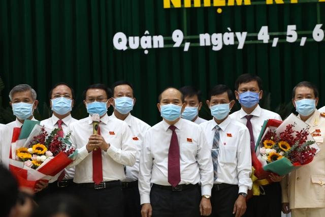 TPHCM: Ông Lâm Đình Thắng tái đắc cử Bí thư quận 9 - 2