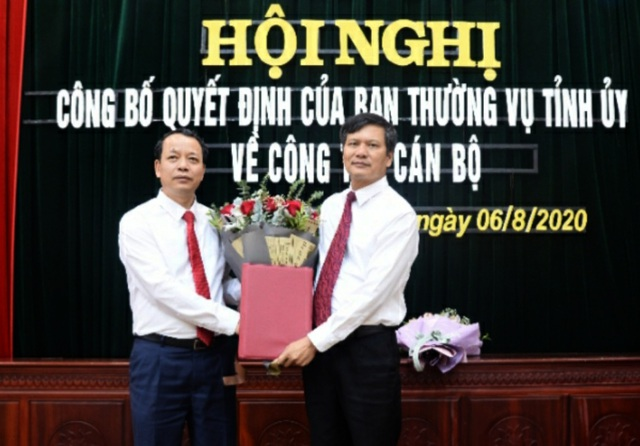 Điều Bí thư TP Bắc Ninh Nguyễn Nhân Chinh làm Phó Giám đốc Sở LĐ, TB  XH - 1