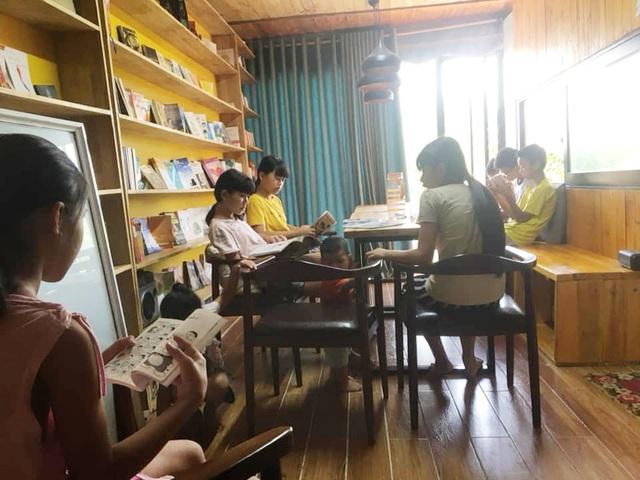 9X cãi lời mẹ, mượn tiền xây dựng thư viện sách miễn phí - 7