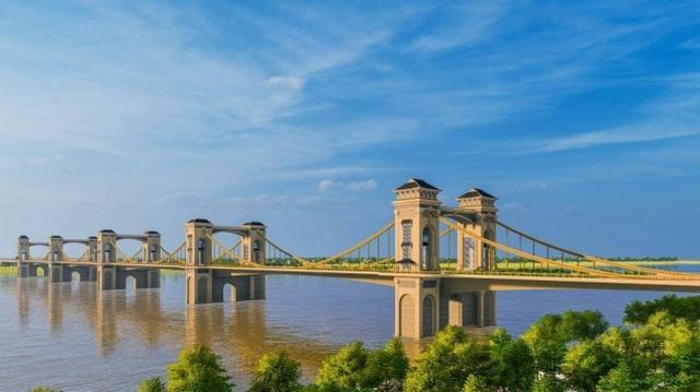 Hà Nội cân nhắc phương án kiến trúc cầu Trần Hưng Đạo vượt sông Hồng - 1