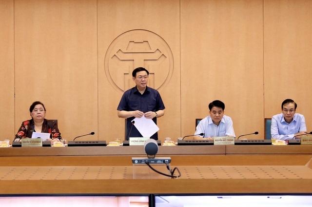"""Chủ tịch Hà Nội vận động """"mạnh thường quân"""" ủng hộ vật tư chống Covid-19 - 1"""