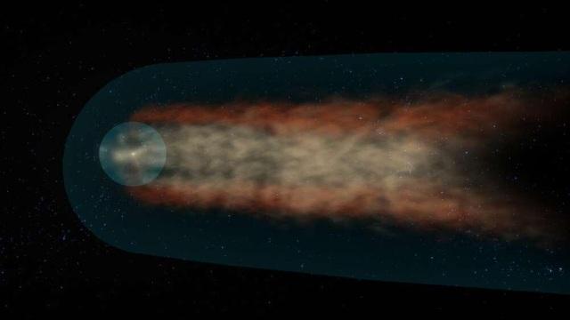 Hệ mặt trời có hình dạng giống như một chiếc bánh sừng bò bị xẹp - 2