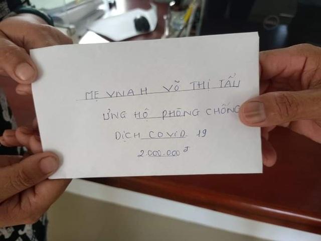 Mẹ Việt Nam Anh hùng 94 tuổi hai lần ủng hộ tiền chống dịch - 1