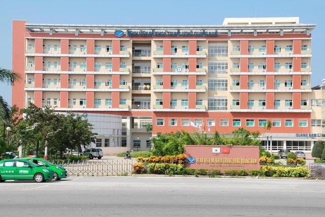 """Bệnh viện Đa khoa Trung ương Quảng Nam """"kêu cứu"""" vì thiếu đồ bảo hộ - 1"""