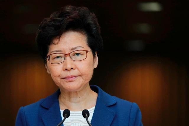 Mỹ công bố trừng phạt Trưởng đặc khu Hong Kong và 10 quan chức khác - 1