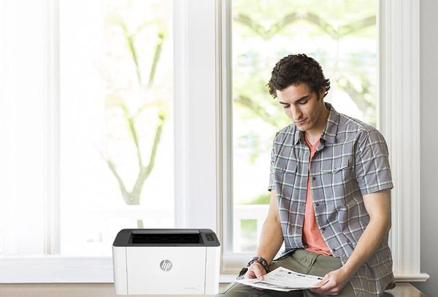 HP Laser 107a, in ấn tại nhà, chẳng cần đi xa - 1
