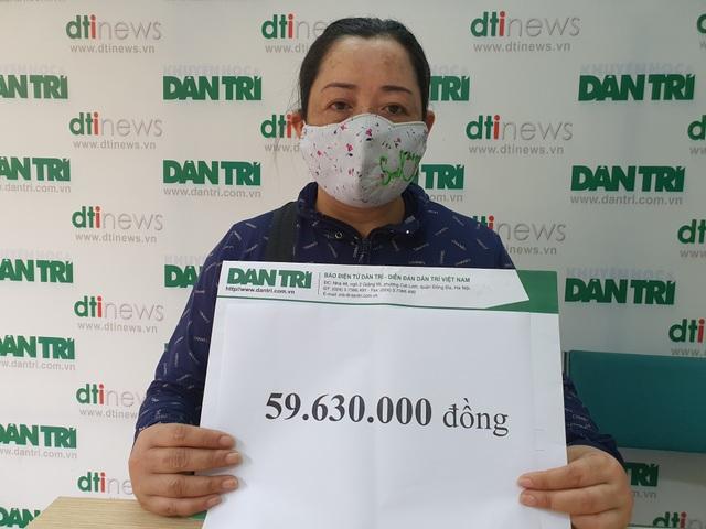 Người phụ nữ thống khổ được bạn đọc giúp đỡ gần 60 triệu đồng - 1
