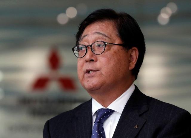 Chủ tịch Mitsubishi từ chức vì lý do sức khỏe - 1