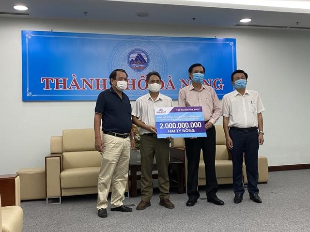 Hòa Phát ủng hộ TP. Đà Nẵng, tỉnh Quảng Nam và Quảng Ngãi 6 tỷ đồng phòng chống dịch Covid-19 - 2