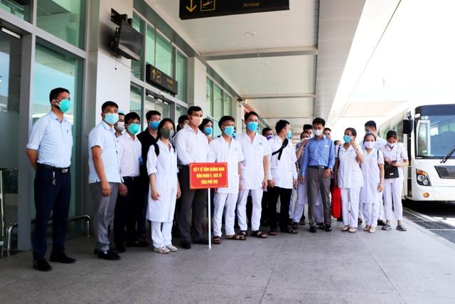 Nhiều địa phương tiếp tục chi viện Đà Nẵng, Quảng Nam chống dịch Covid-19 - 1