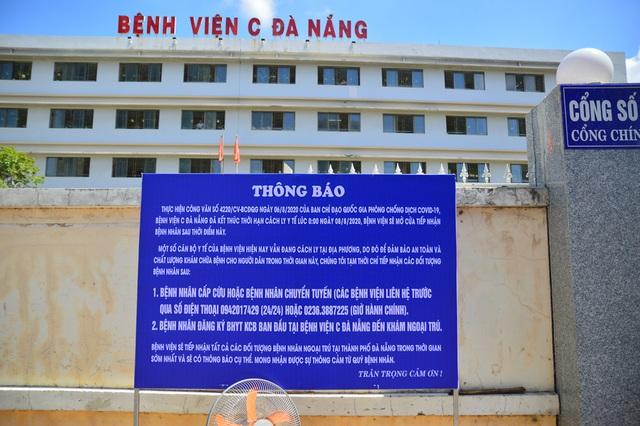 Ngày đầu Bệnh viện C Đà Nẵng mở cửa tiếp nhận bệnh nhân sau phong tỏa - 3
