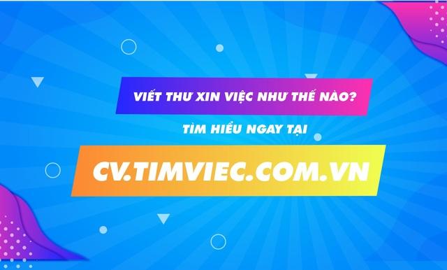 Cv.timviec.com.vn cung cấp 1000+ CV và Cover letter chuyên nghiệp - 1