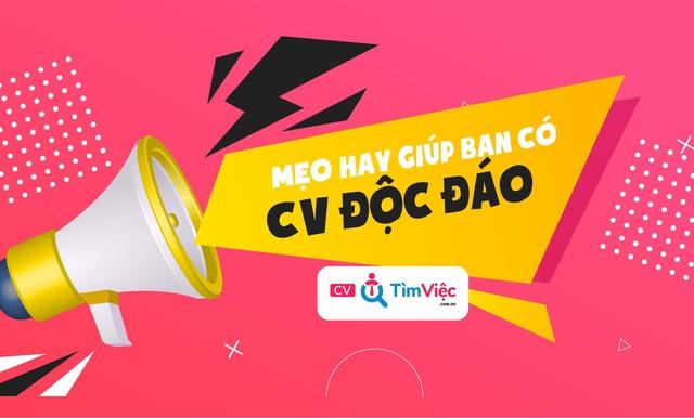 Cv.timviec.com.vn cung cấp 1000+ CV và Cover letter chuyên nghiệp - 3
