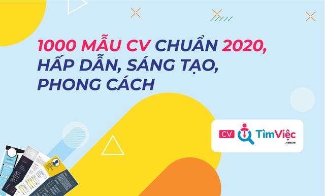Cv.timviec.com.vn cung cấp 1000+ CV và Cover letter chuyên nghiệp - 4