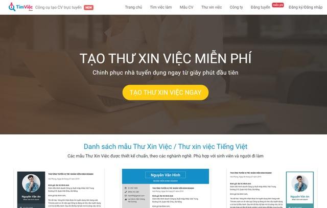 Cv.timviec.com.vn cung cấp 1000+ CV và Cover letter chuyên nghiệp - 5