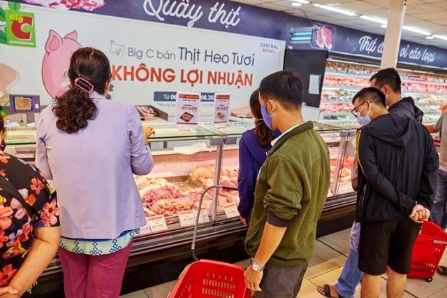"""Thực hư việc siêu thị bán thịt lợn """"không lợi nhuận"""" vì dịch Covid-19  - 2"""