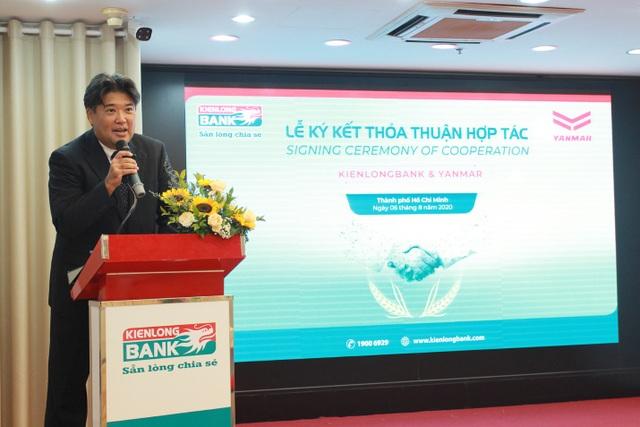 Yanmar Việt Nam ký kết thoả thuận hợp tác toàn diện với ngân hàng TMCP Kiên Long - 1