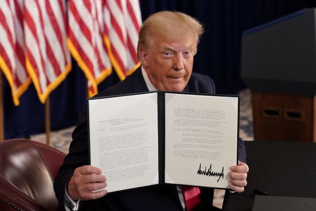 Vượt mặt Quốc hội, ông Trump gia hạn cứu trợ người Mỹ trong dịch Covid-19 - 1