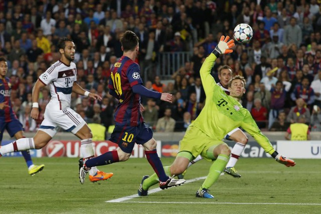 Barcelona đại chiến Bayern Munich ở tứ kết Champions League - 1
