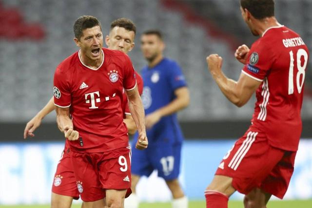 Bayern Munich 4-1 Chelsea: Dấu ấn lớn từ Lewandowski - 1