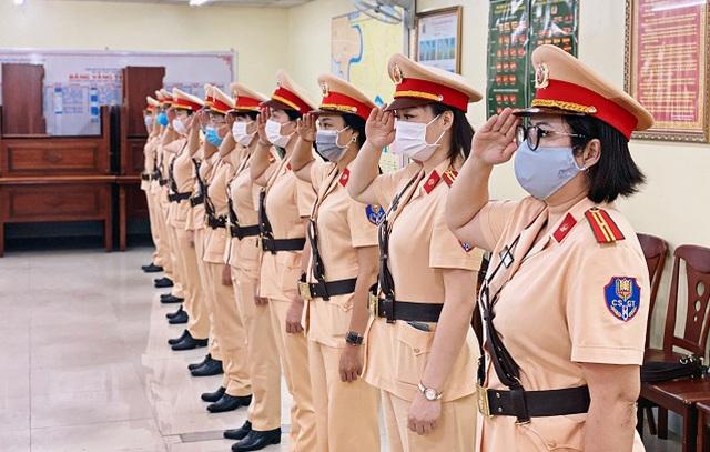 TPHCM: Ngày 25/8 ra mắt đội hình nữ cảnh sát giao thông dẫn đoàn - 2