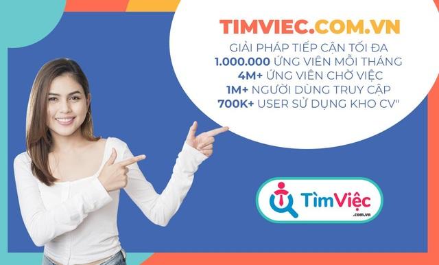 Timviec.com.vn mách bạn: Top 5 địa điểm có nhiều việc làm - 1