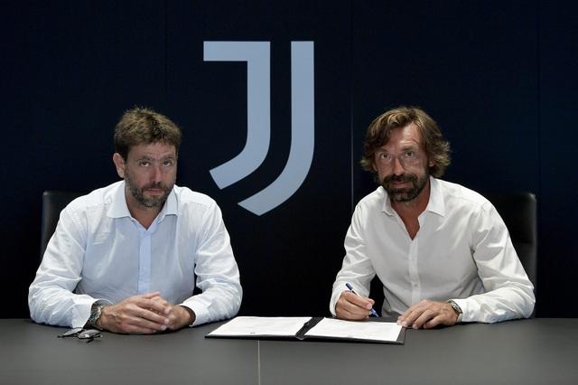 Andrea Pirlo trở thành tân huấn luyện viên trưởng của Juventus - 1