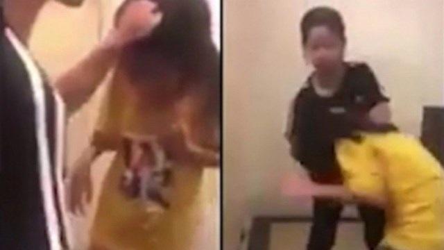 Một học sinh lớp 5 bị các nữ sinh cấp 2 đánh dằn mặt - 1