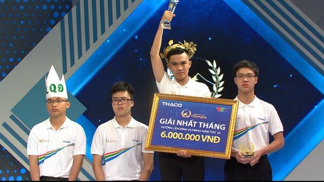 Nhờ câu hỏi cuối cùng, nam sinh Hà Nội chiến thắng cuộc thi tháng Olympia - 3