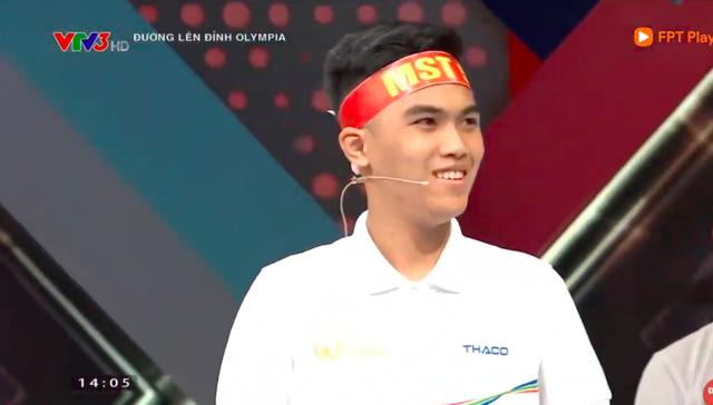 Nhờ câu hỏi cuối cùng, nam sinh Hà Nội chiến thắng cuộc thi tháng Olympia - 1