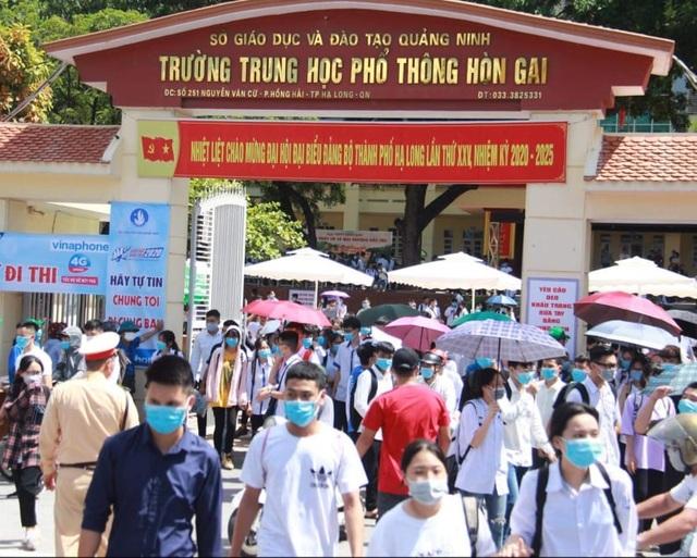 Quảng Ninh: Thiếu đề thi tốt nghiệp bài thi tổ hợp, phải in sao bổ sung gấp - 1