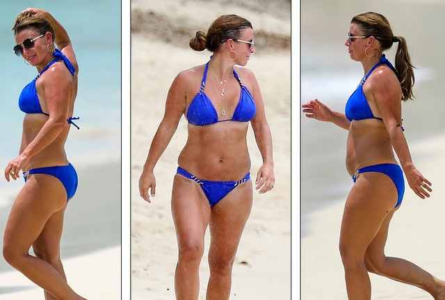 Coleen Rooney diện bikini khoe dáng tròn trịa - 3