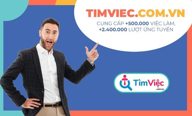 """Timviec.com.vn giới thiệu top việc làm """"hot"""" trong mùa dịch - 2"""