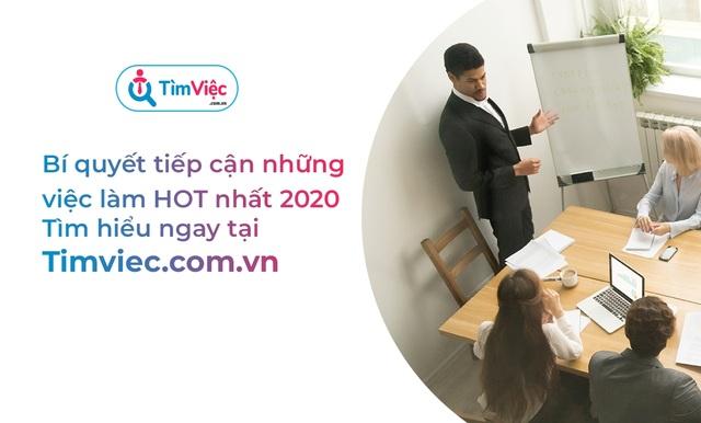 """Timviec.com.vn giới thiệu top việc làm """"hot"""" trong mùa dịch - 3"""