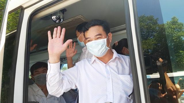 Đoàn y bác sĩ Thừa Thiên Huế ra quân chi viện Đà Nẵng chống Covid-19 - 5