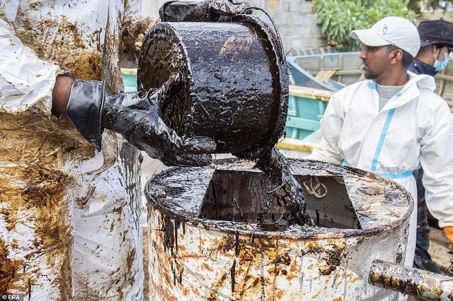 4.000 tấn dầu tràn ra biển, thảm họa sinh thái đe dọa quốc đảo thiên đường - 12