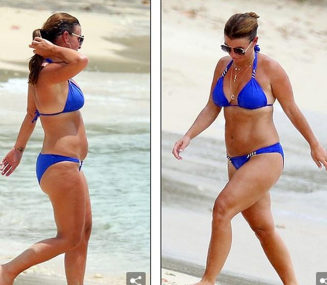 Coleen Rooney diện bikini khoe dáng tròn trịa - 2