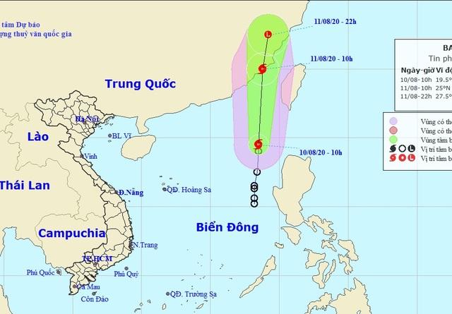 Hình thành bão số 3 trên Biển Đông - 1