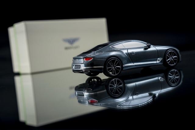 Cận cảnh chiếc xe Bentley mô hình 1:8 làm lâu công hơn cả ô tô thật - 10