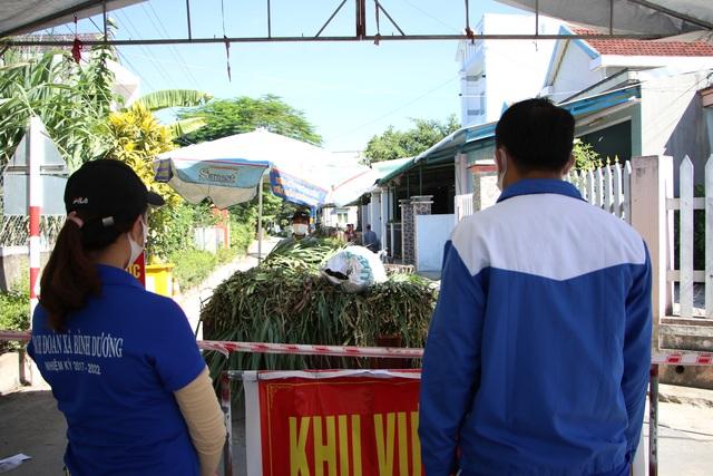 Quảng Ngãi:  Áo xanh lội ruộng tìm thức ăn cho vật nuôi khu cách ly - 1
