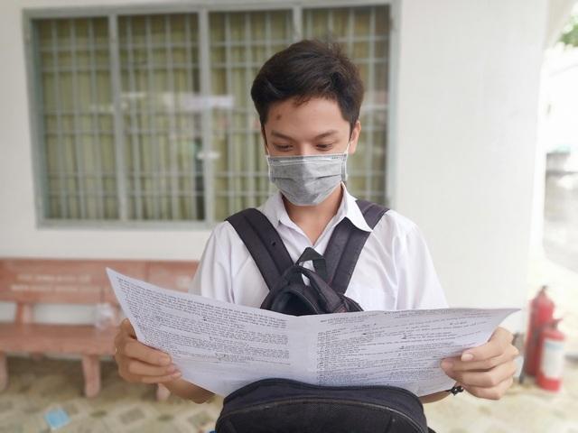 Thí sinh nhận xét: Bài thi tổ hợp Xã hội vừa sức, bài Tự nhiên khó hơn - 12