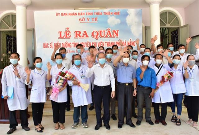 Đoàn y bác sĩ Thừa Thiên Huế ra quân chi viện Đà Nẵng chống Covid-19 - 3